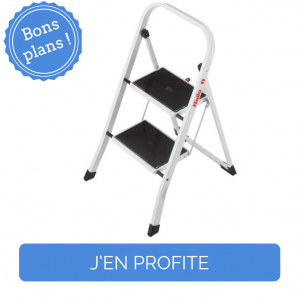 Bon plan promotion escabeau