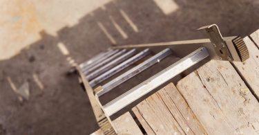 Echelle en métal pour l'extérieur