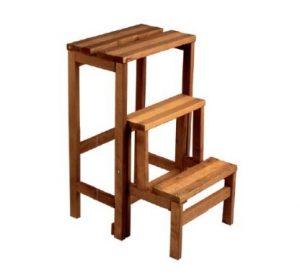 Escabeau design en bois